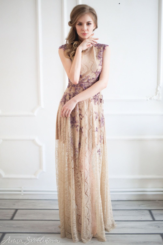 Bohemian bridesmaid dress, Boho wedding dress, Boho bridesmaid dress ...