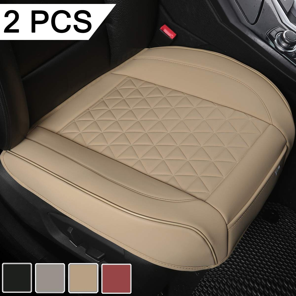 LUCKYMAN CLUB Car Seat Covers fit Sedan SUV fit for Nissan Altima Murano Frontier Maxima Xterra Chevy Cruze Impala Malibu Equinox HHR Mazda cx5 cx7 Full Set, Black