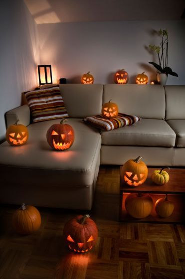 Como Decorar Halloween En Casa