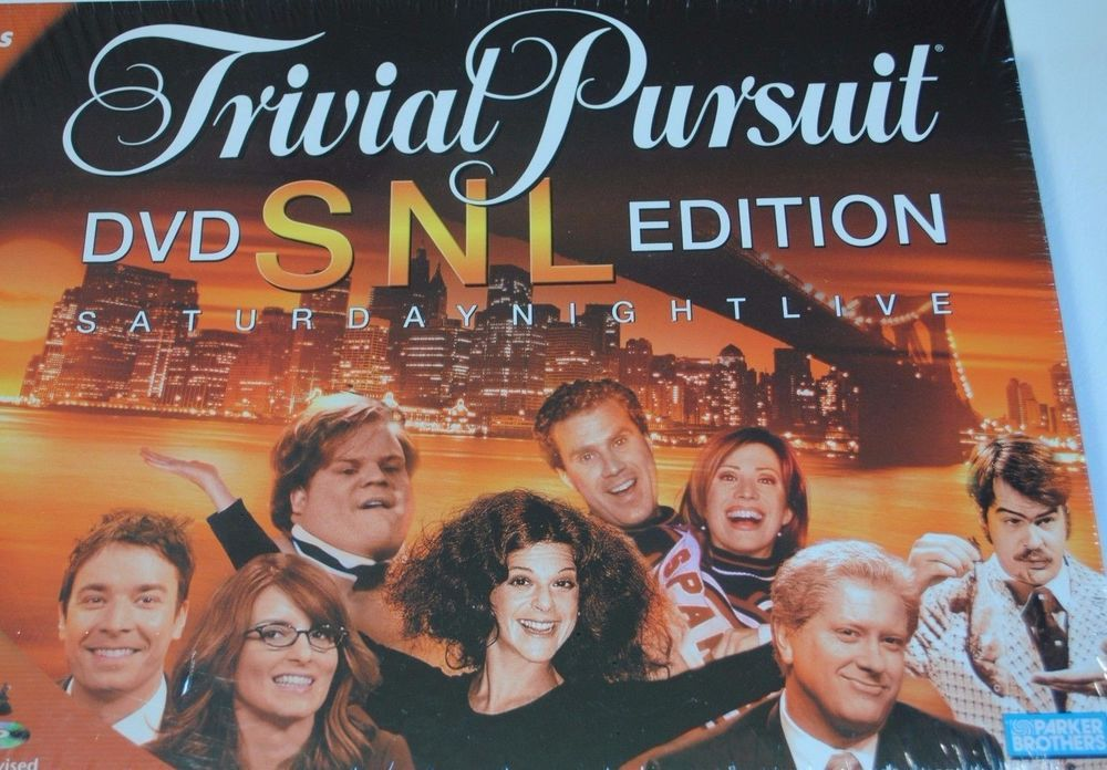 Details about Trivial Pursuit DVD SNL Edition Christmas for the SNL