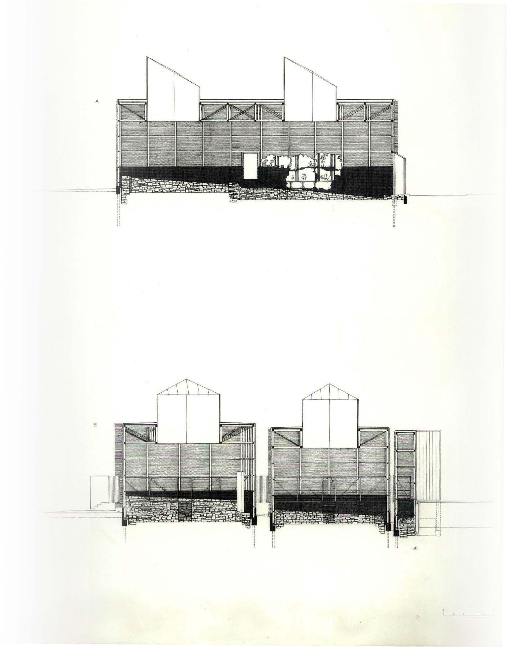 1986 Shelters for Roman archaeological site, Chur