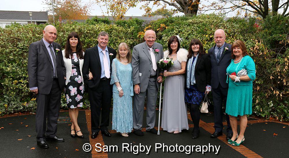 The Wedding Of Doreen Longley Mike Spencer At St Helens Register Office Millstone