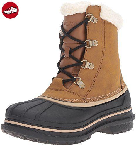 AllCast II Boot, Damen Schneestiefel, Braun (Wheat 209), 39/40 EU (7 Damen UK) Crocs
