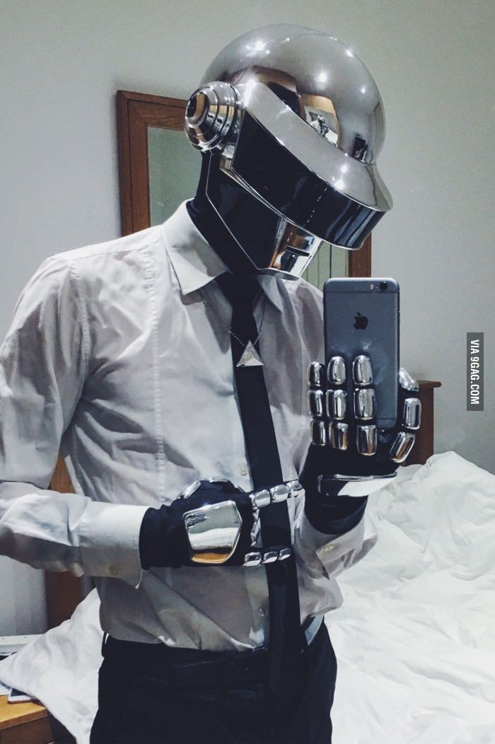 To the guy making Daft Punk helmet. Took me 3 months to ...