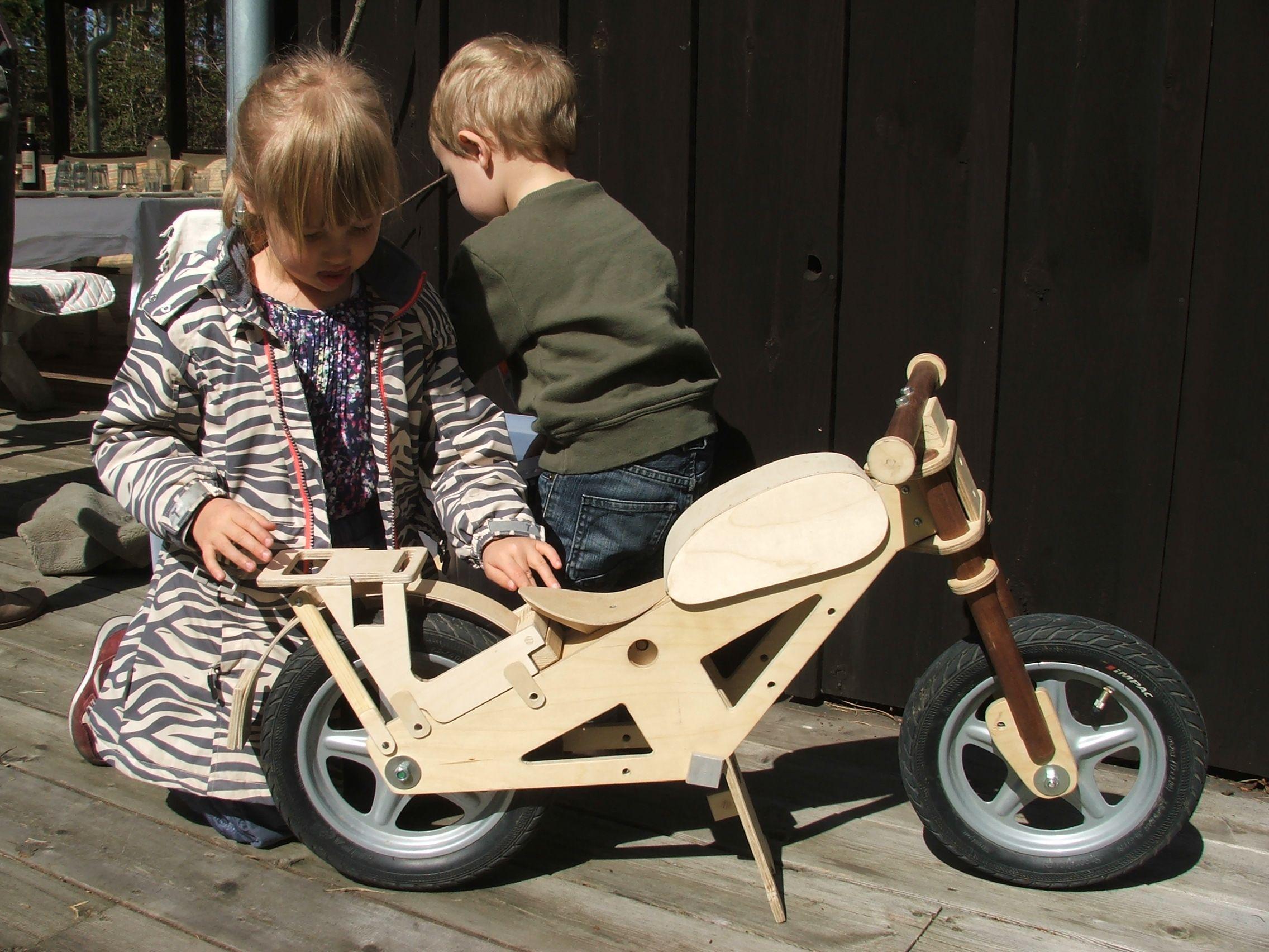 Blinkenbike Is Danish Designed Build A Balance Bike That Takes The