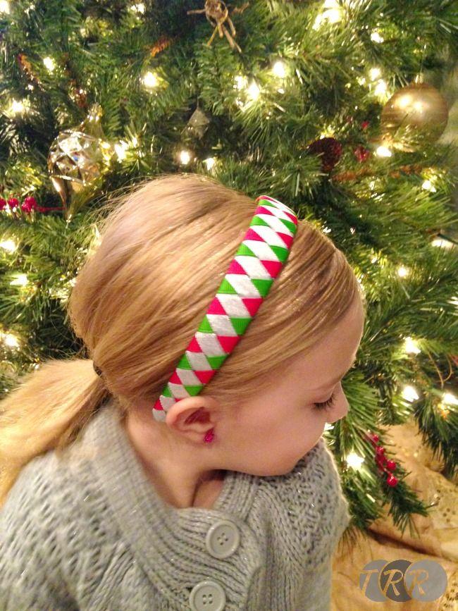 Woven Headband - The Ribbon Retreat Blog