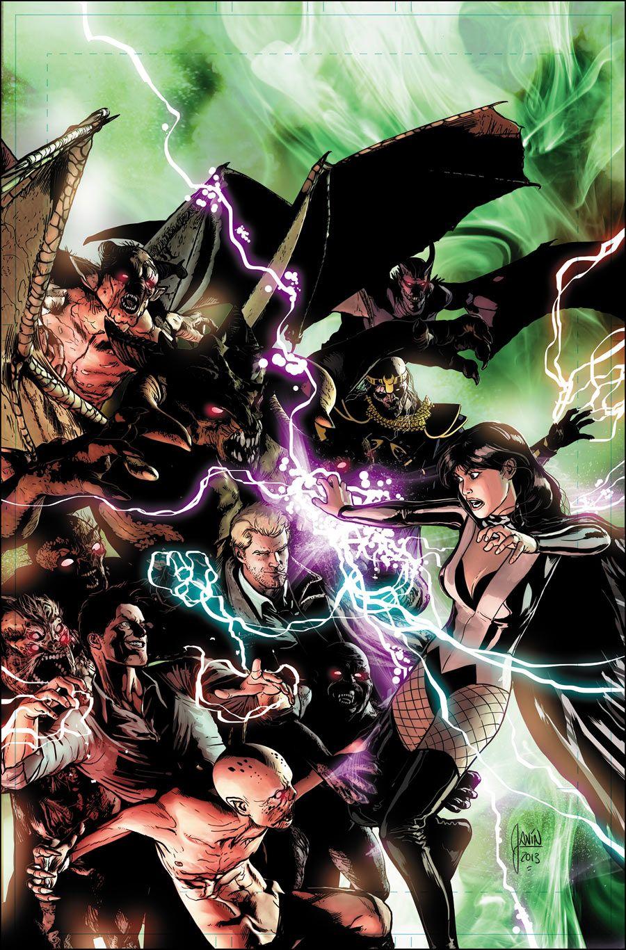 Justice League Dark Mikel Janin Darkhorse Comics Arte Em