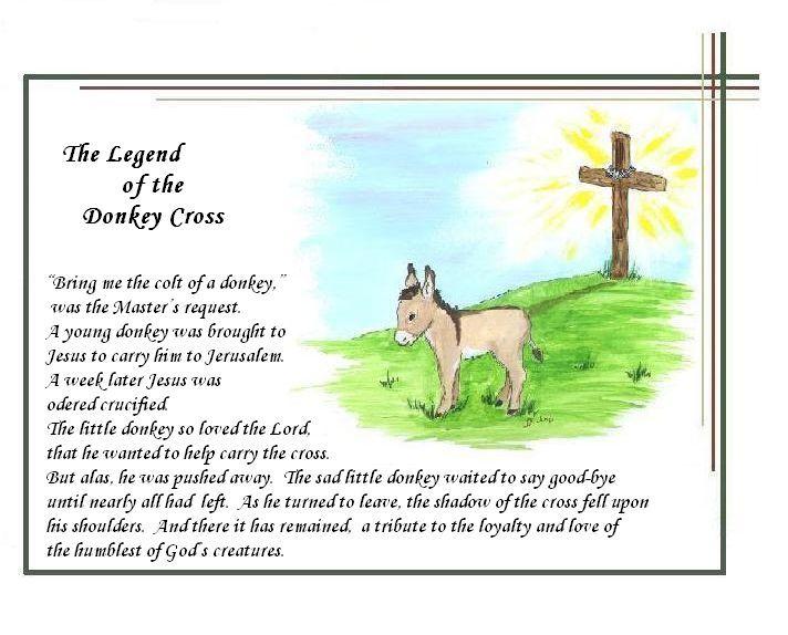 Legend of the Donkey Cross