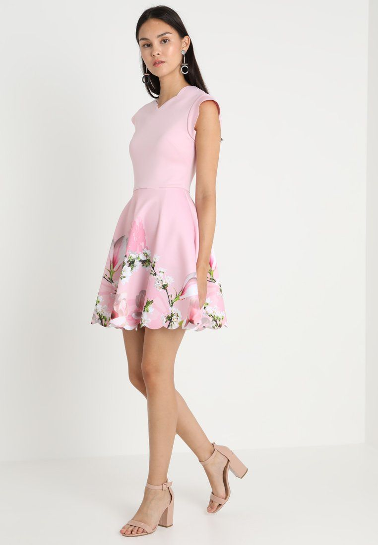 95191aceb72a GRETTAE HARMONY SKATER DRESS - Korte jurk - pink   Zalando.nl 🛒 in ...