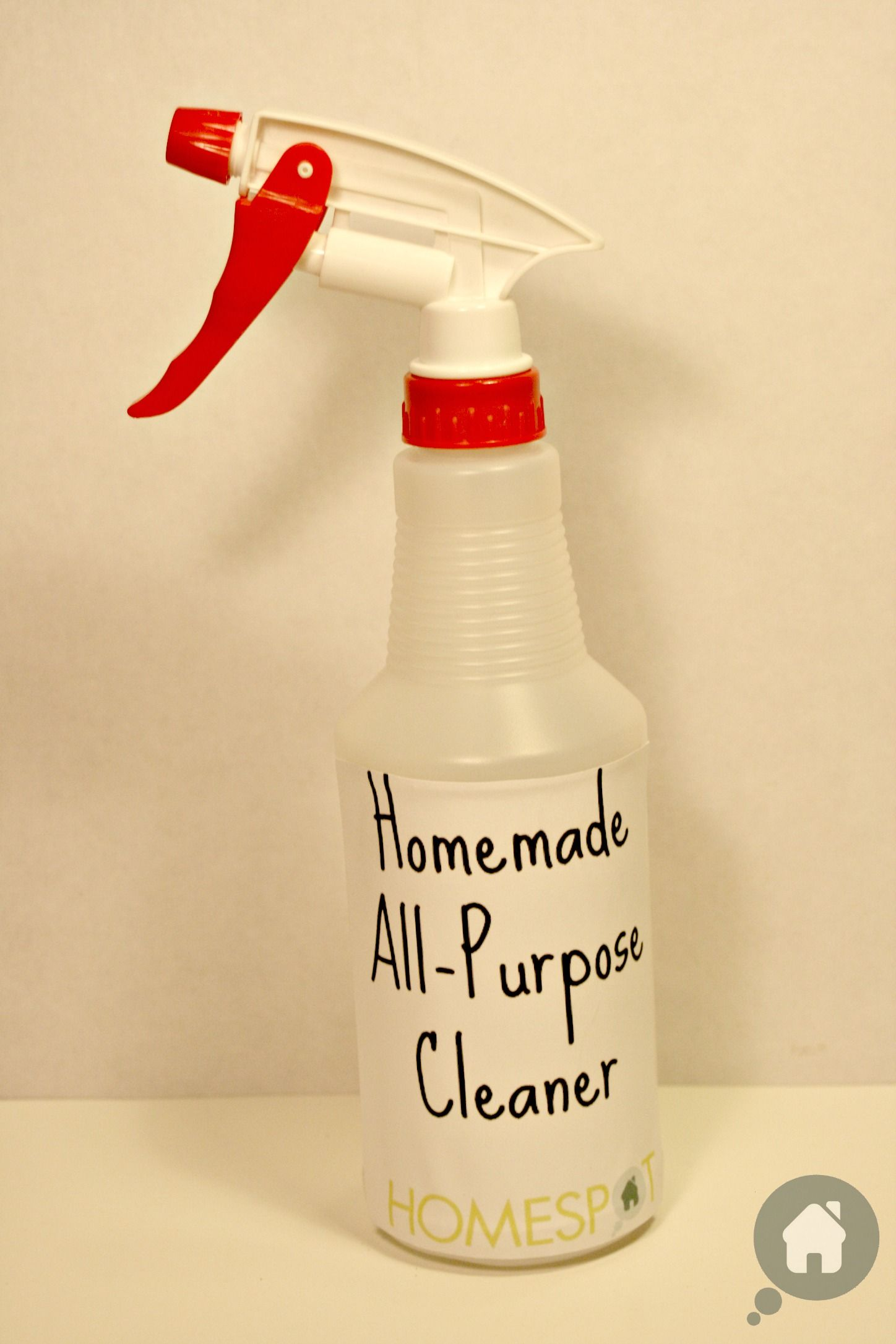 Homemade All Purpose Cleaner 1 4 Cup Of Baking Soda 1