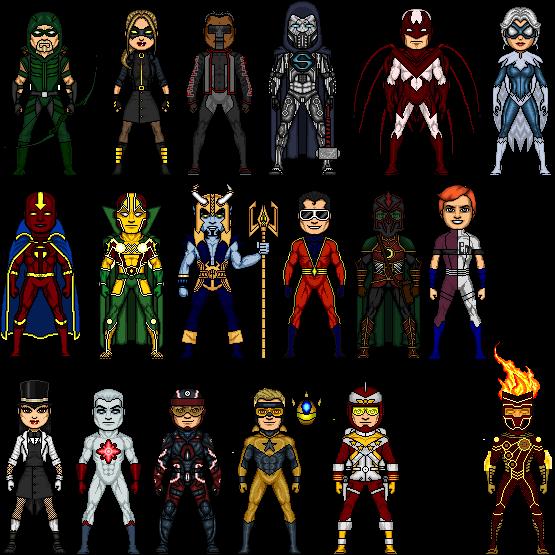 Some DC Justice League Part 2 By SteampunkSuperHero On DeviantArt