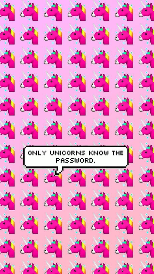 Only Unicorns Know The Password AWESOME