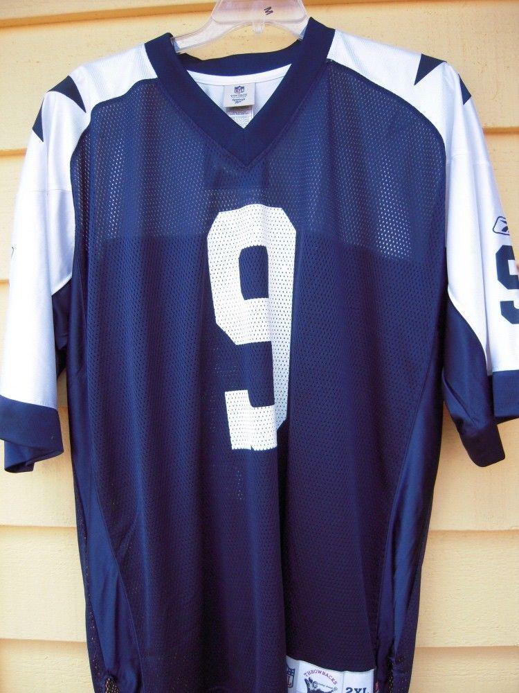 211be19e Dallas Cowboys ROMO #9 MESH Rep Jersey Men's 2XL NFL Vintage ...