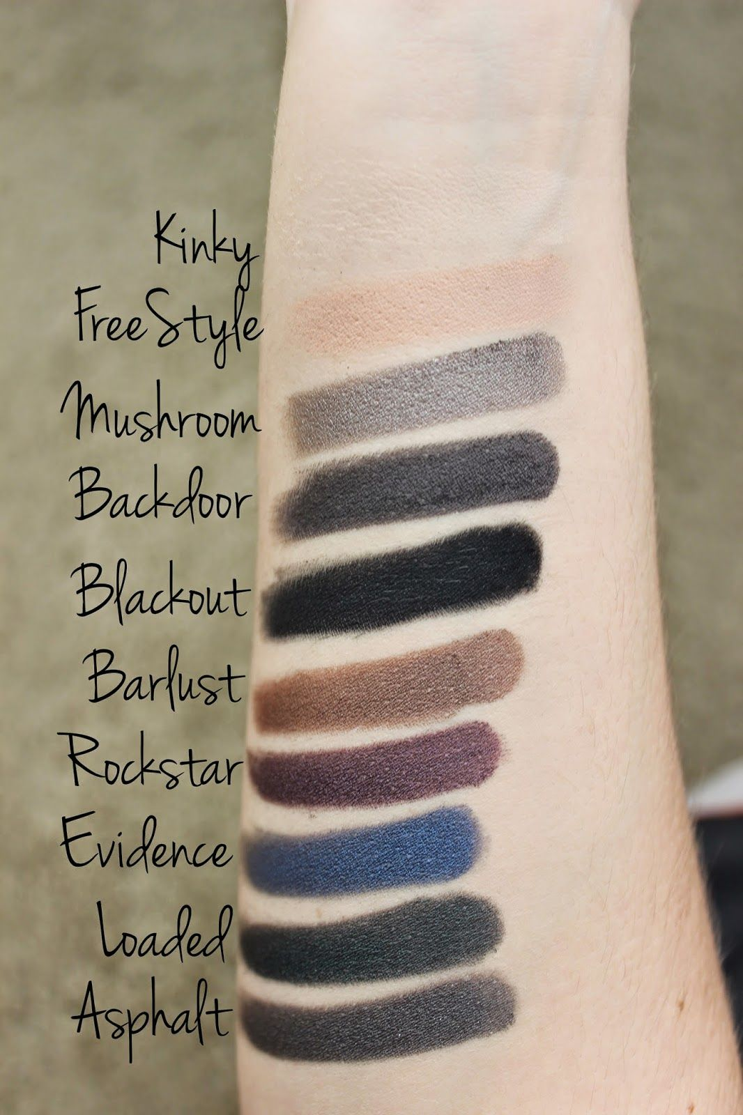 Smoked Eyeshadow Palette by Urban Decay #8