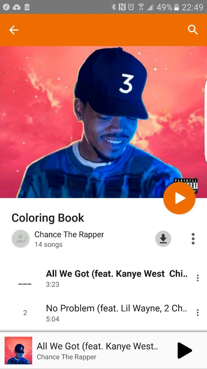 Chance 3 Best Mixtape Of The Year So Far Coloring Book Chance Chance The Rapper Mixtape