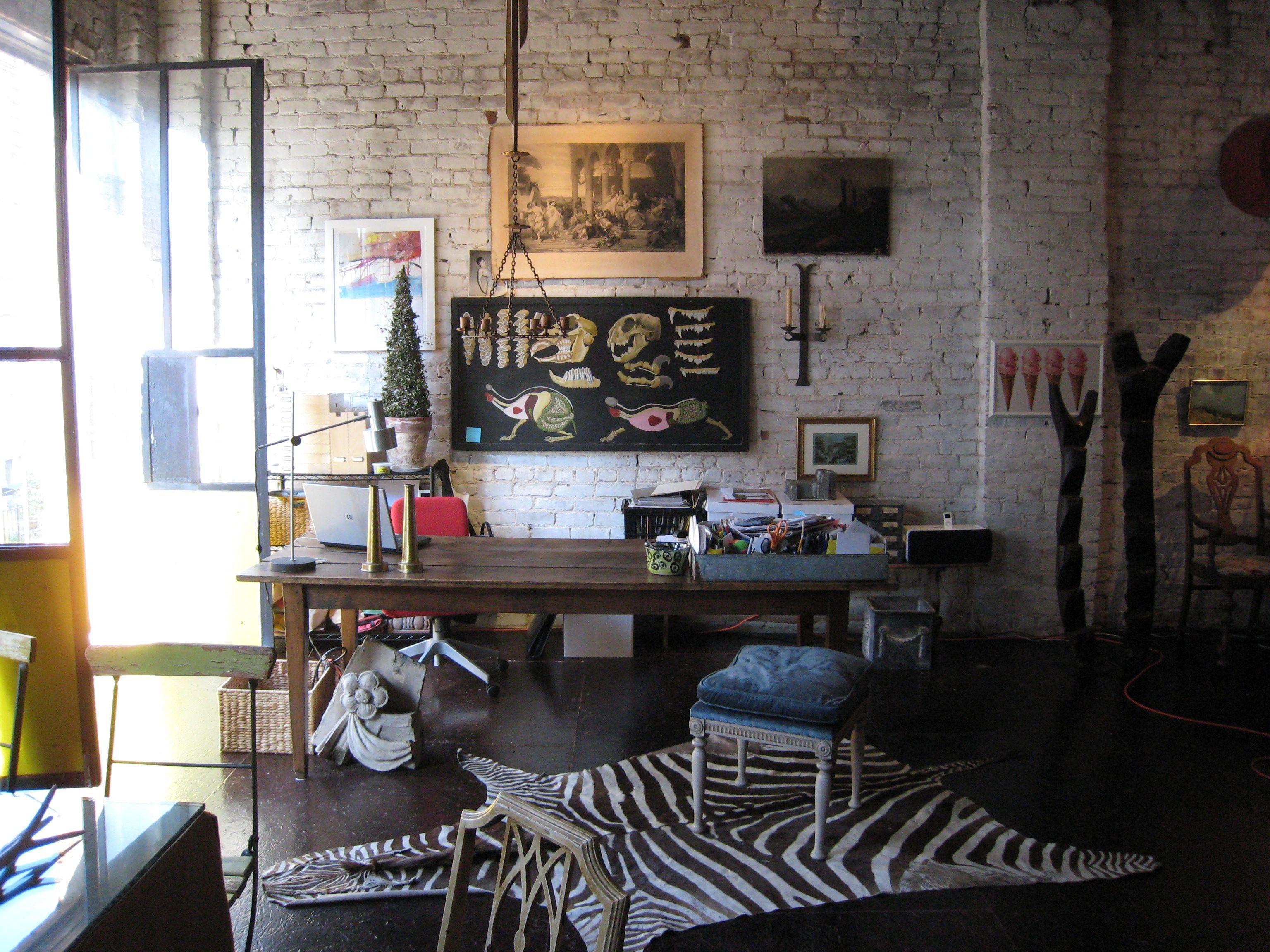 Eliff Karadayis Loft Studio In Istanbul - Dream Houses -