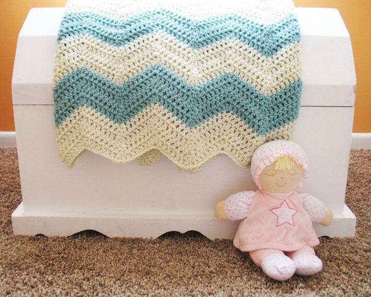 Image result for CREAM crochet baby blanket | Crochet | Pinterest