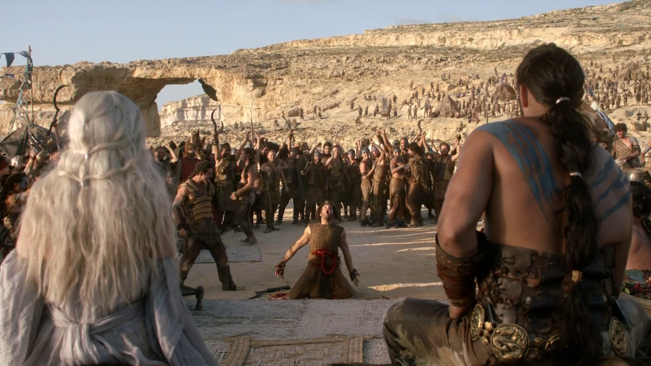 Daenerys targaryen and khal drogo wallpaper daenerys targaryen wedding - Matrimonio De Daenerys Targaryen Y Khal Drogo Hbo
