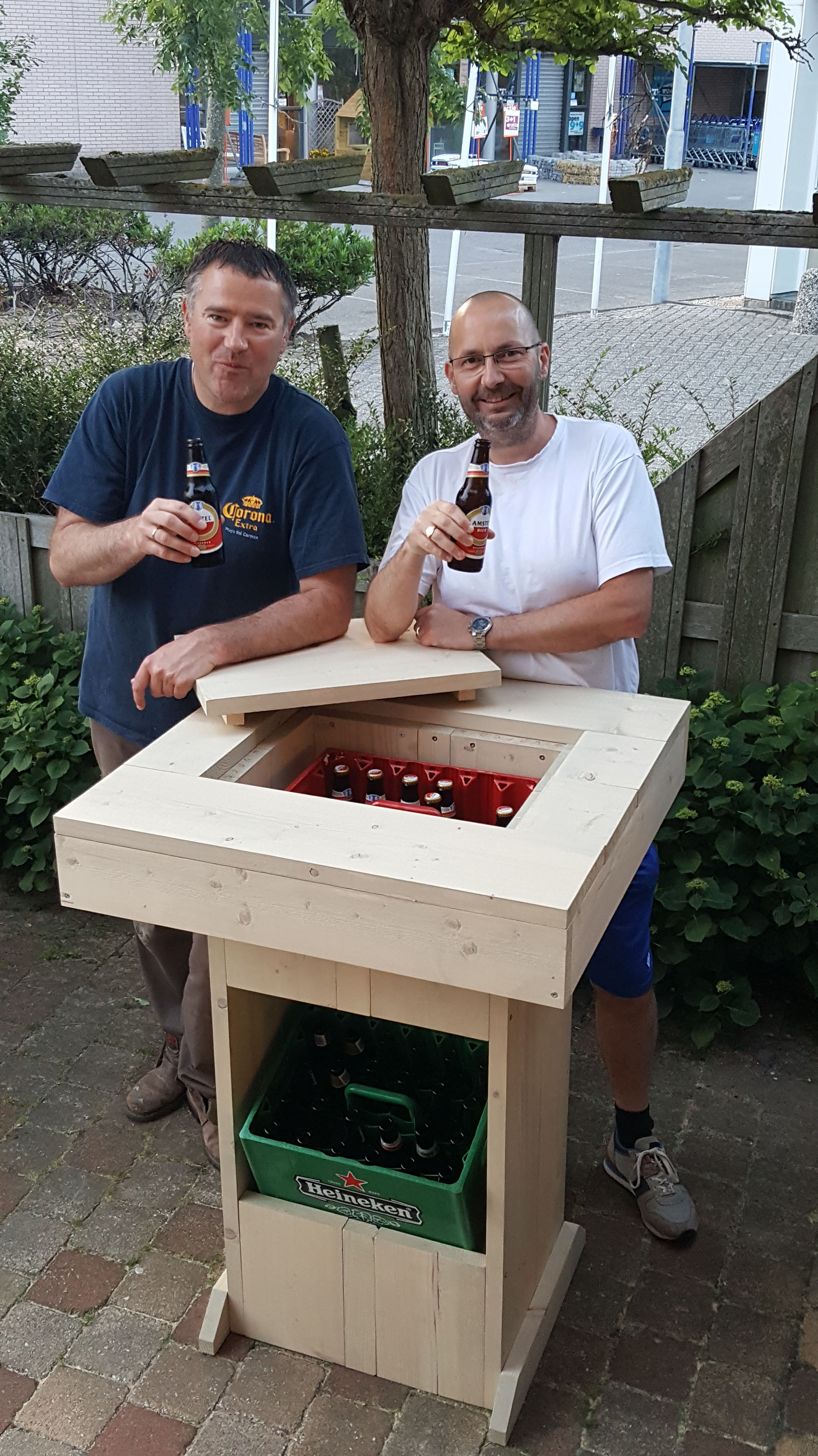 Bouwtekening Statafel Steigerhout.Bier Statafel Bouwtekening In 2019 Wood Chairs Stools And Tables