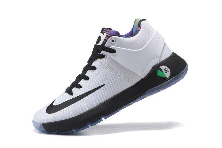 b1607905d8f0 Nike KD Trey 5 IV White Multi Color Black Shoes 2016   2017