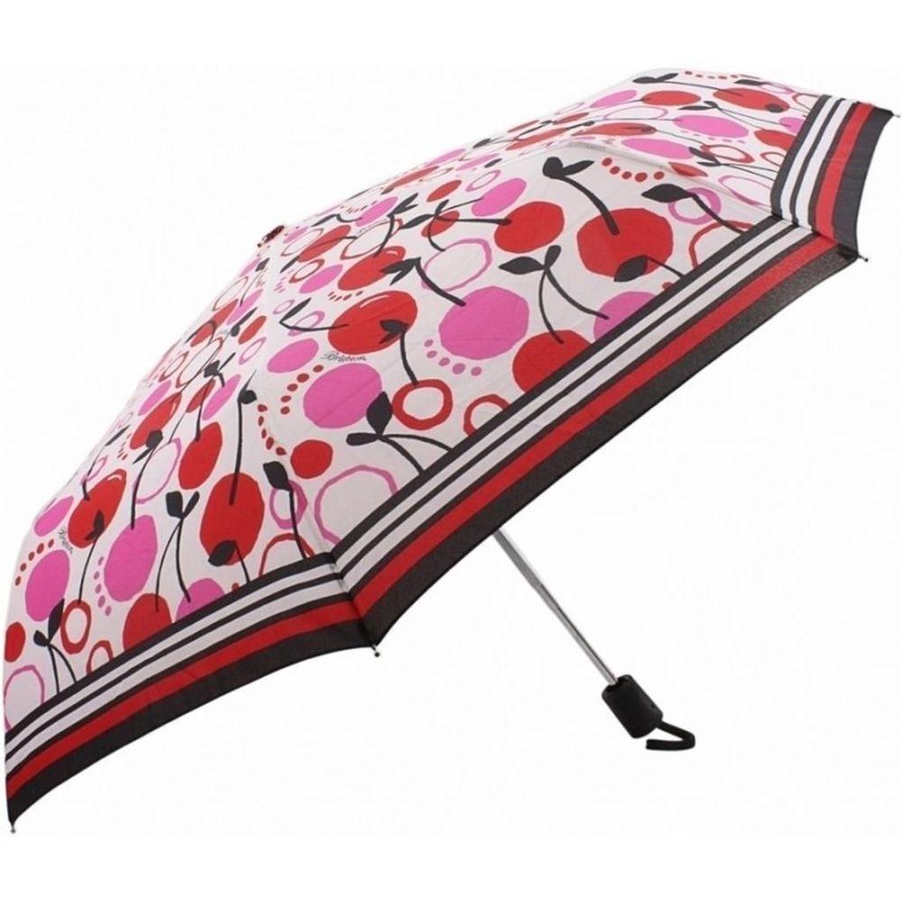 Authentic Brighton Its Raining Cherries Umbrella NWT. Compact /Folding / Fashion