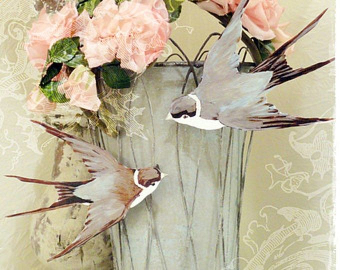 Pair Sweet Bird Clothespins Clips Swallows Gifts Wedding Birthday Decoration Jeanne D Arc Inspired Clothes Pins