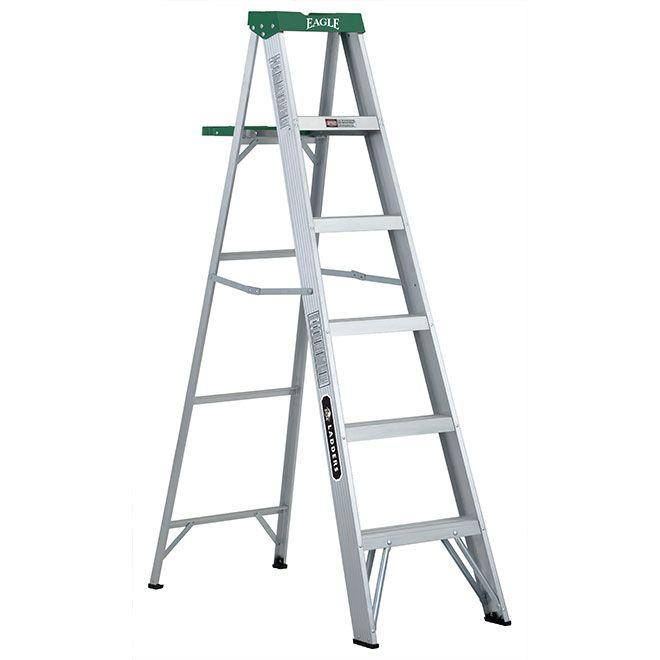Eagle Stepladder Lp 706e Rona Step Ladders Ladder Wfx Utility