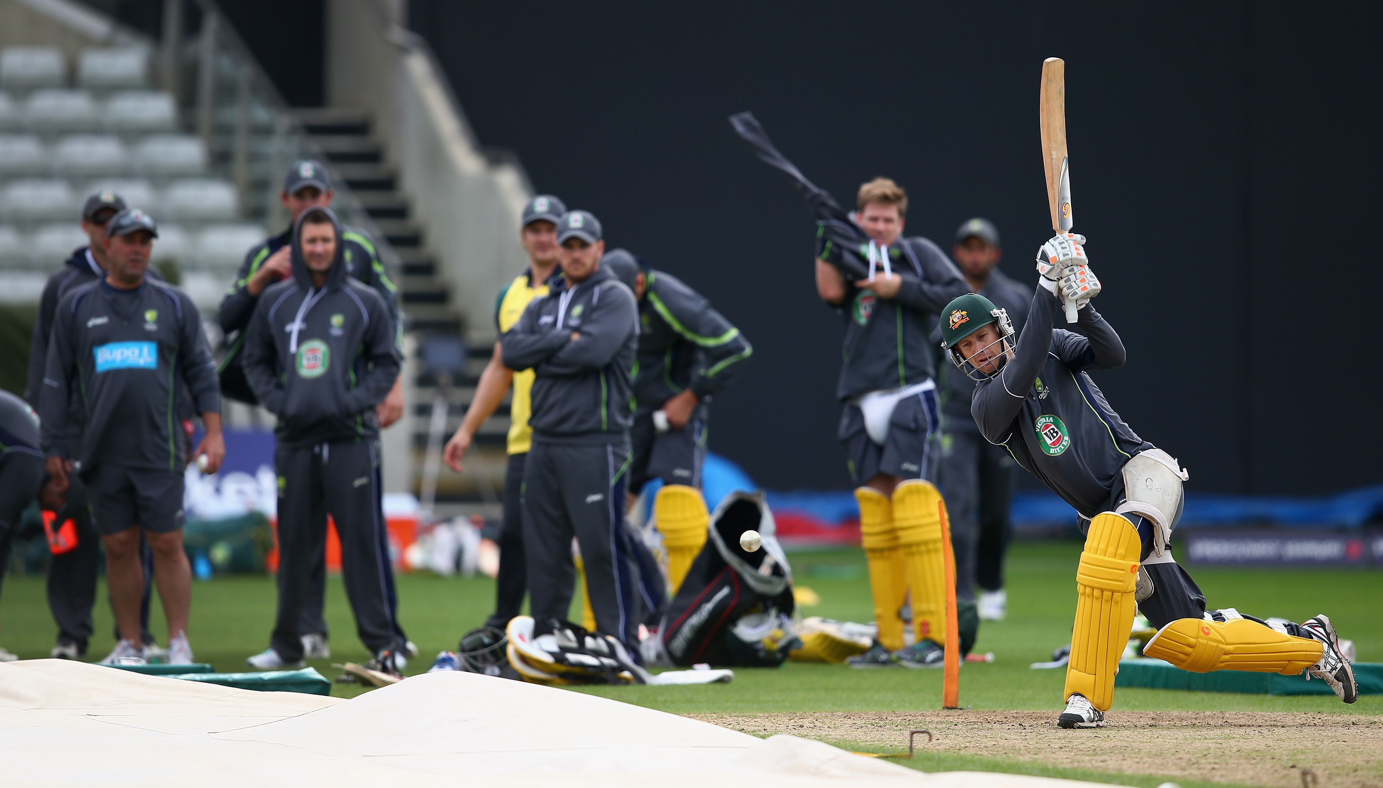 Pin by Australian Cricketers' Associa on Third ODI 2013