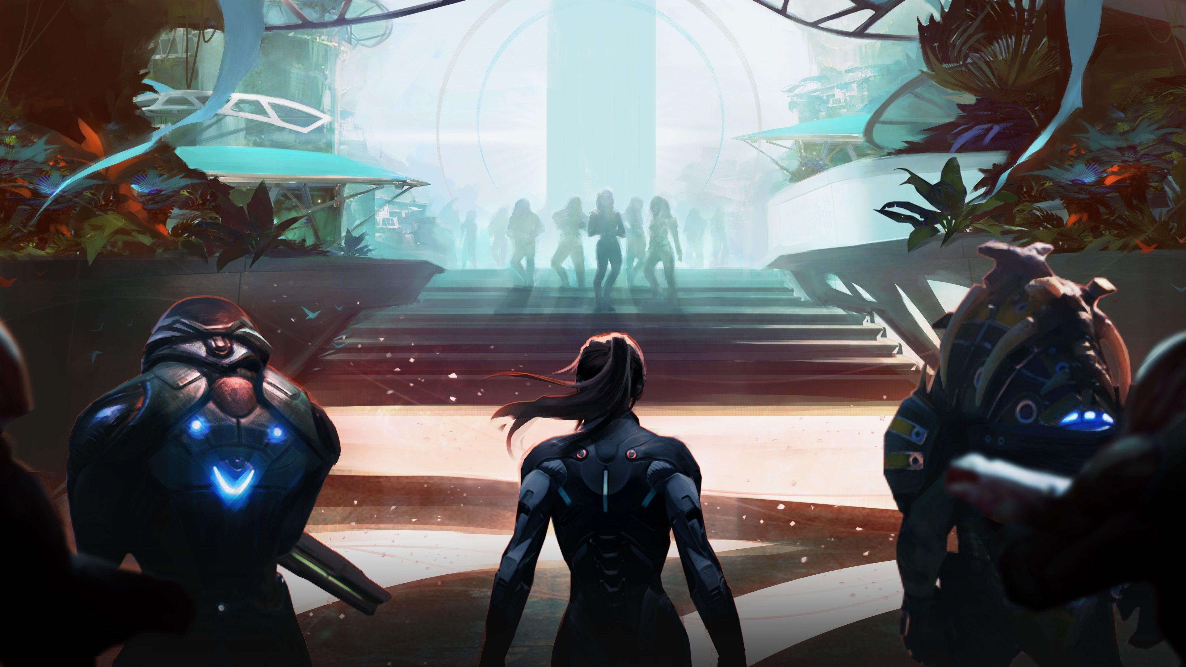 3840x2160 Mass Effect Andromeda 4k Desktop Wallpaper Hd Quality