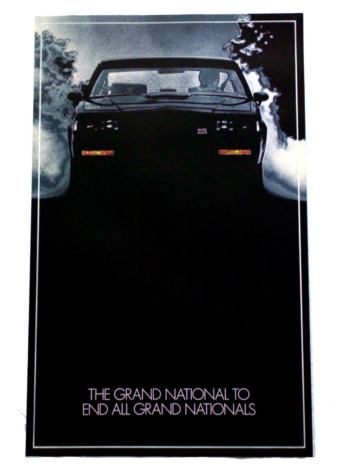 Buick Poster Lgmsports Com Buick Grand National 1987 Buick Grand National Buick Grand National Gnx