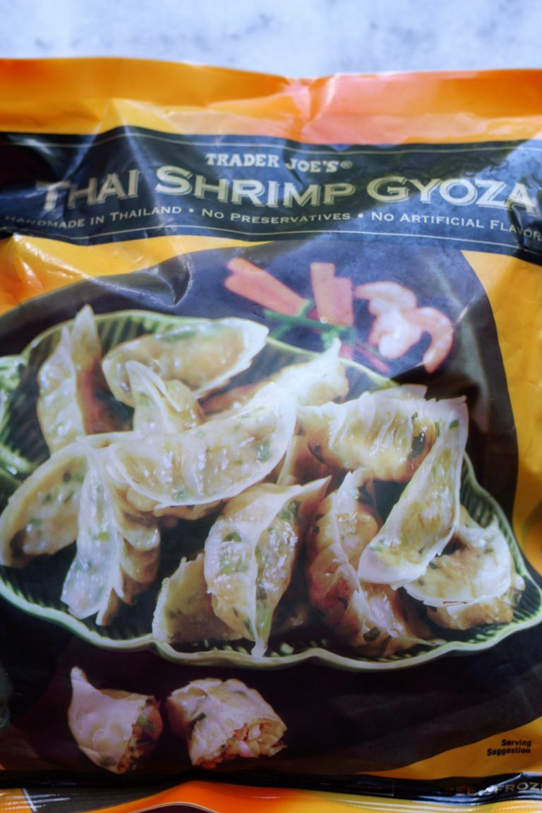 Trader Joe S Thai Shrimp And Vegetable Gyoza Shrimp Gyoza Thai Shrimp Gyoza