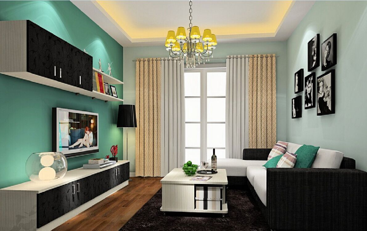 Creative Photo Of Modern Color Combination For Living Room