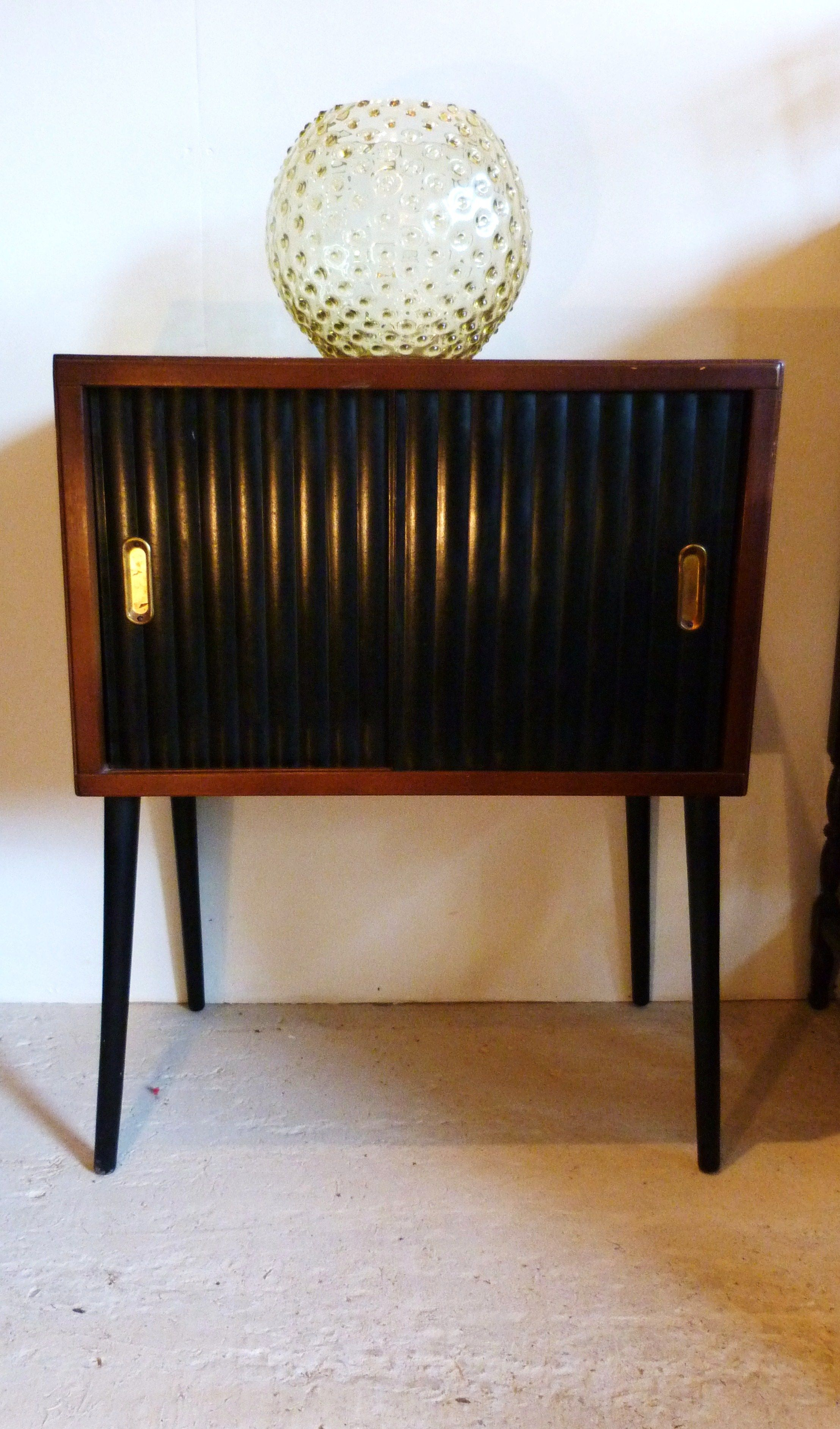 1960s Record Cabinet Funky 1960s Record Cabinet And Bobble Vase By Borske Sklo