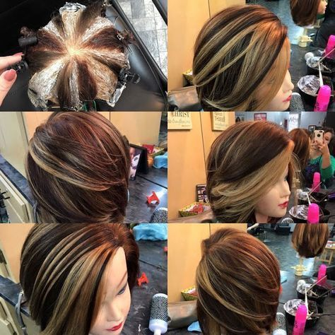 HOT NEW Hair Coloring Technique: Pinwheel Color!   hair color faves ...