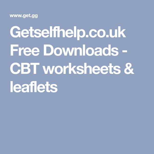 Top 10 cbt worksheets websites.