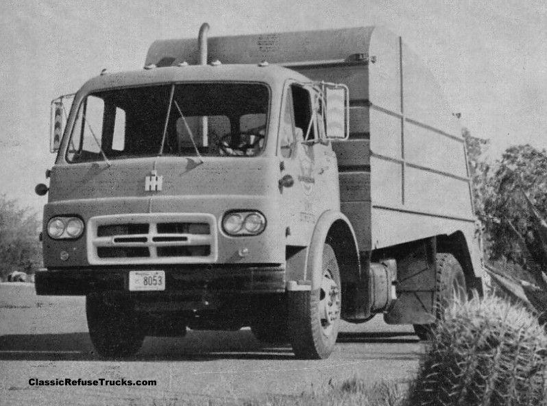 Classic refuse trucks international harvester garbage trucks pinterest - Moissonneuse cars ...