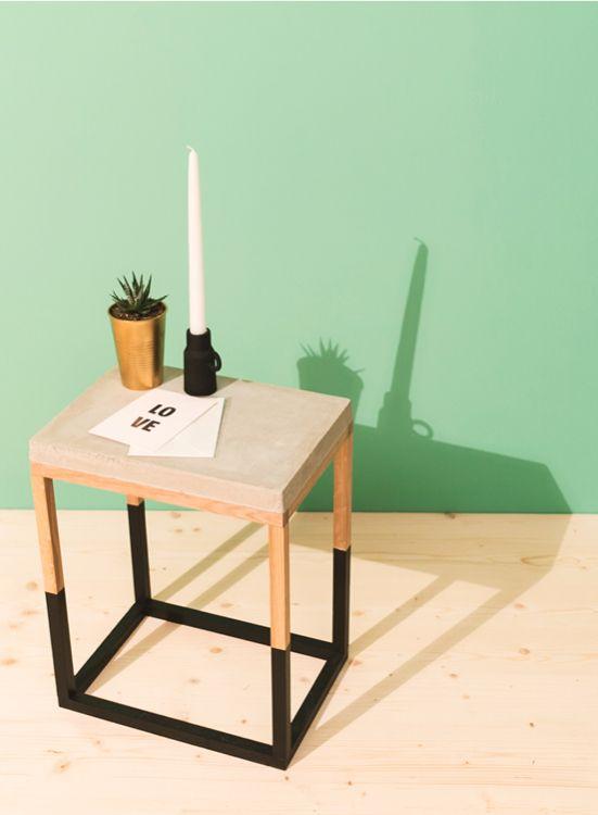 betonmobel selber bauen, couchtisch felsenfest selber bauen - betonmöbel | betonmöbel jetzt, Design ideen