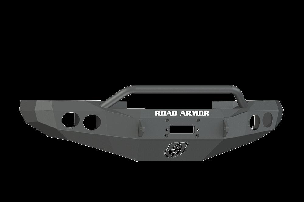 Dodge Front Winch Bumper Round Light Ports 1500 Ram 97 01 Black Pre Runner Guard Road Armor Stealth Series Winch Bumpers Pre Runner Dodge
