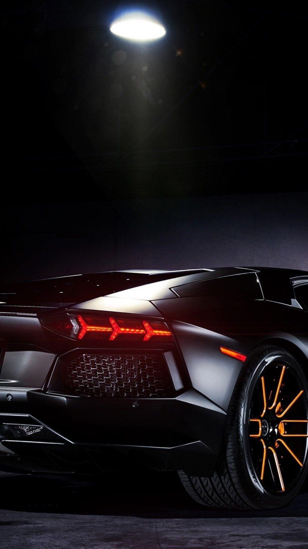 Black Lamborghini 1080 X 1920 Wallpaper For Phone