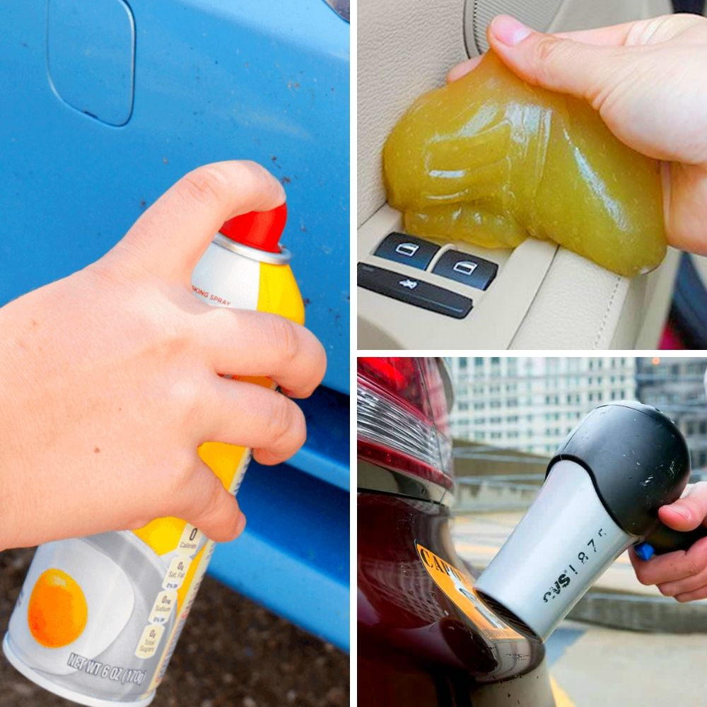 Clever ways to get your car clean using everyday objects