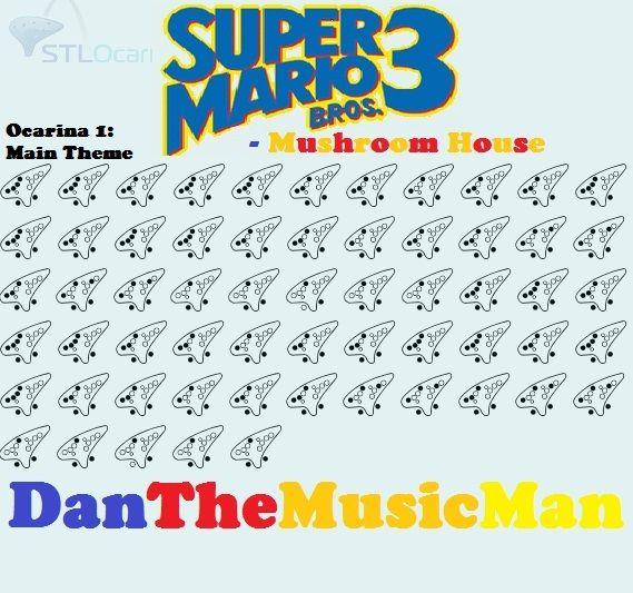 Super Mario Bros 3 Mushroom House Ocarina Music Ocarina Tabs