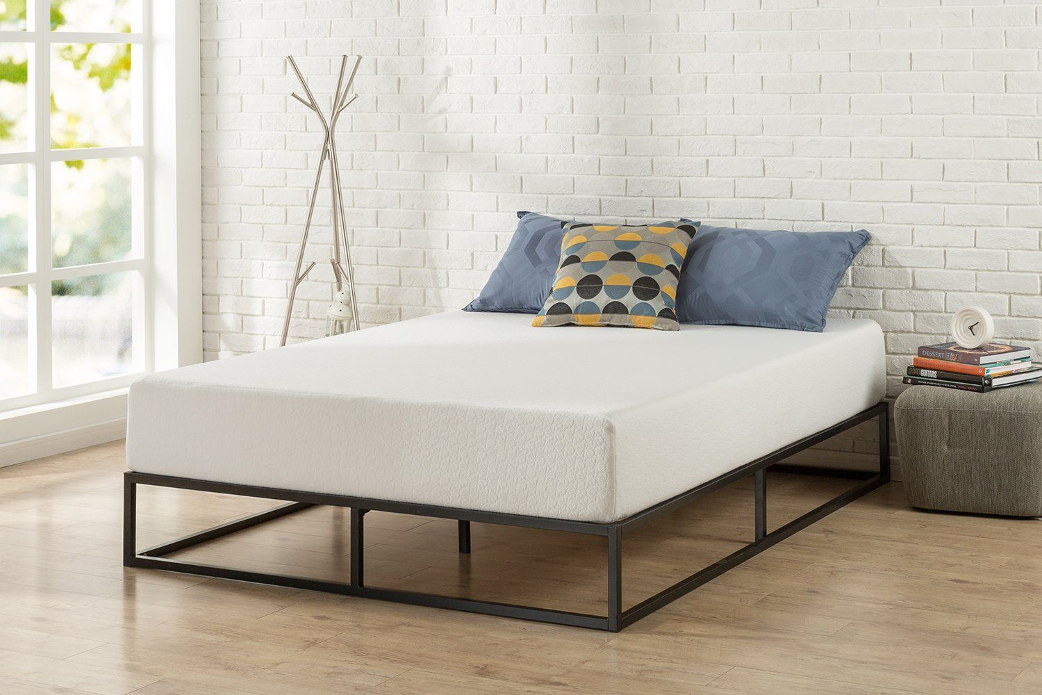 Zinus Modern Studio 10 Inch Platforma Low Profile Bed Frame Bed Frame Mattress Bed Frame Low Profile Bed Frame