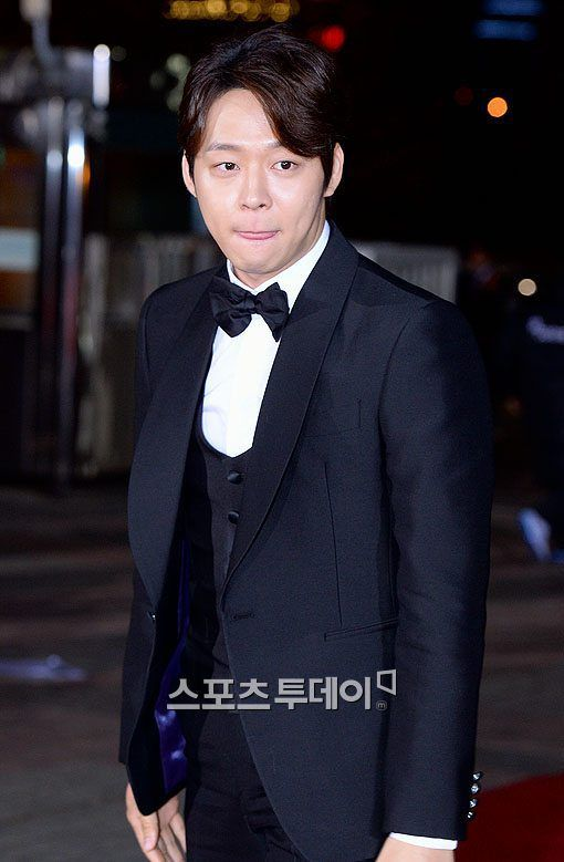 21November2014 Park Yuchun at the Red Carpet of the 51st Daejong Film Festival