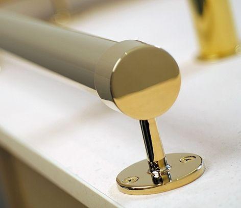 Flad ende indlæg, Ø 25,4 mm (1 tomme)
