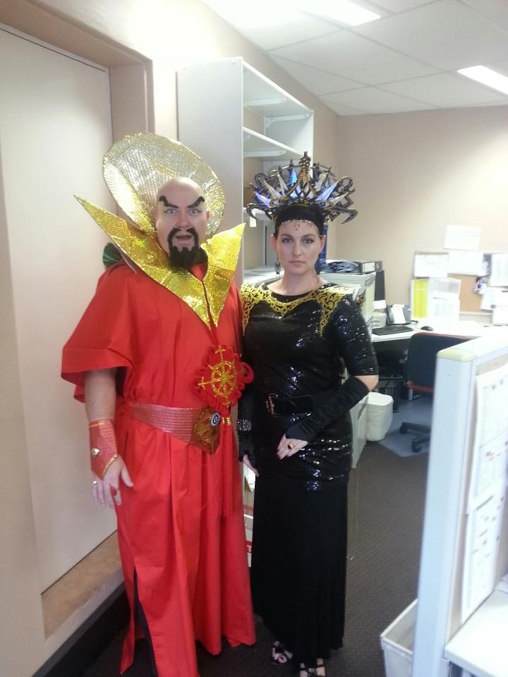 31dbbf3bb47 Ming the Merciless and Dale Arden (Flash Gordon 1980 Movie ...