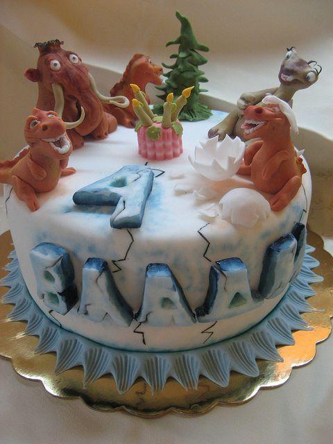 ice age cake - Google Search