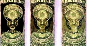 american dollar eagle holding arrows pointing toward the ... Dollar Bill Alien Secrets
