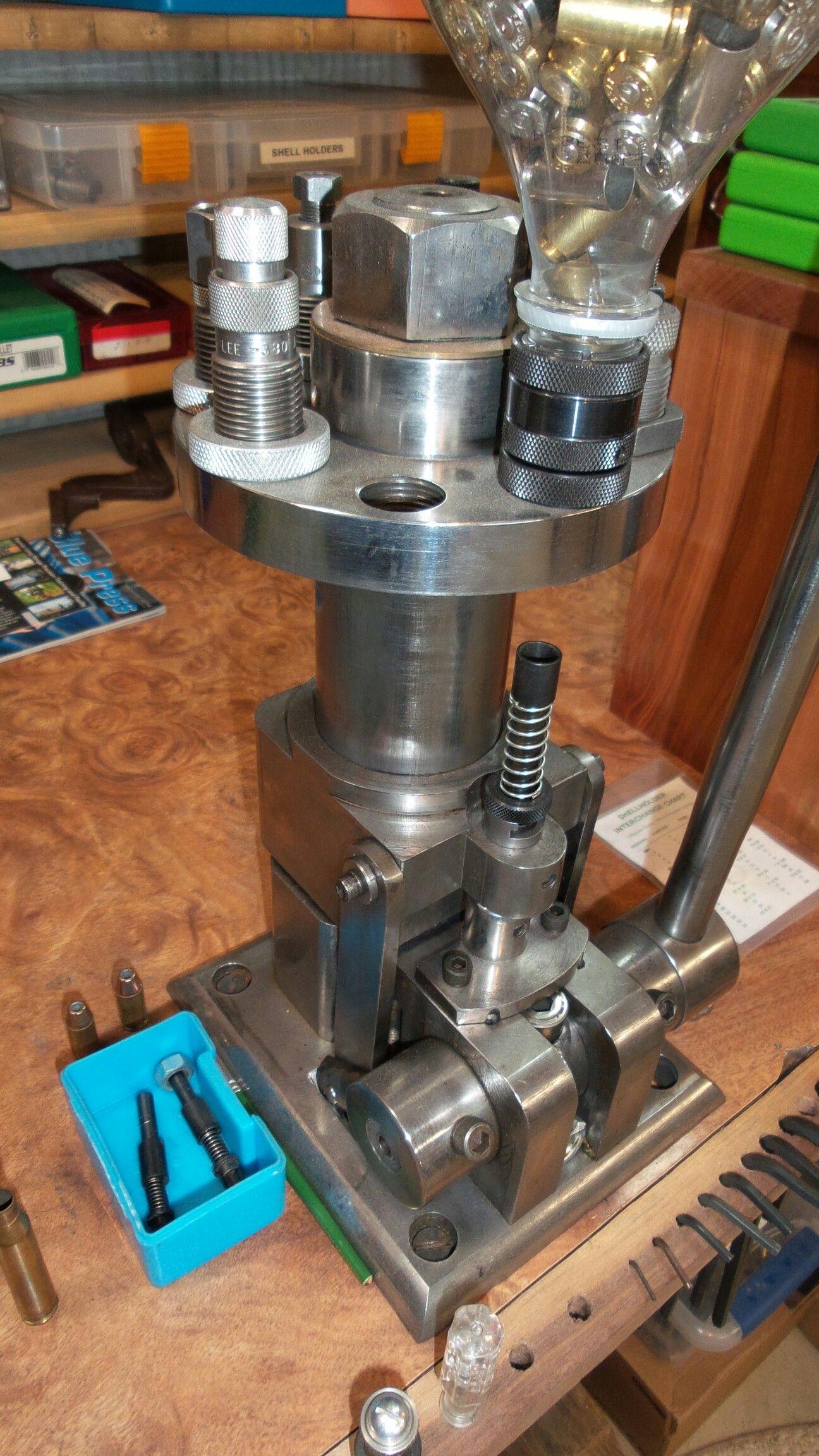 Custom Made Turret Reloading Press My Reloading Room
