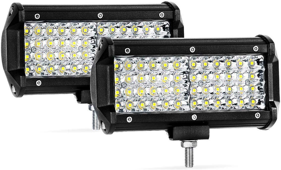 Quad Row Led Pods 2pcs 7 288w Led Light Bar Spot Beam Led Cubes