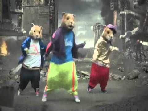 Kia Soul Hamster Halo Dancing To Party Rock Love This